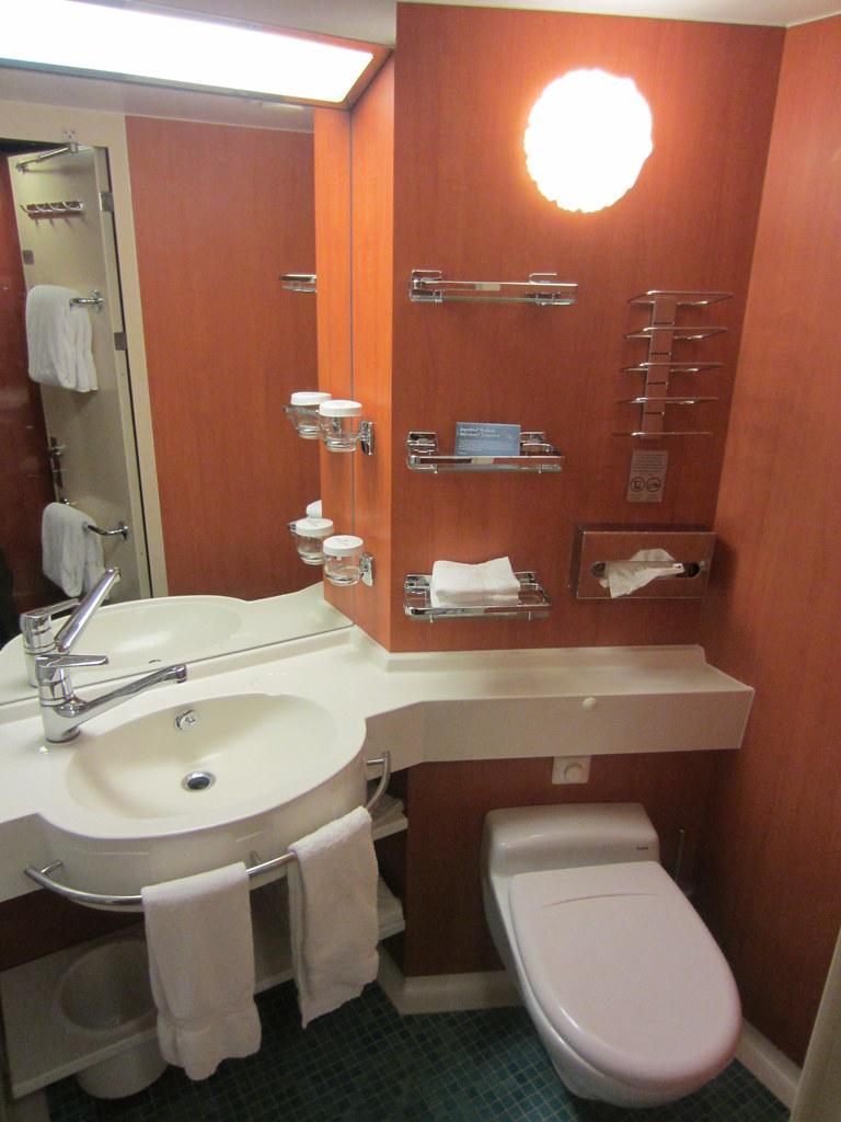 Bathroom In Norwegian Gem Cruise Ship Stateroom 11133 Flickr