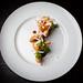 Shrimp, crispy masa, sea urchin mousse 07