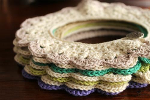 Peter pan collar, cuello, algodón, crochet, tejidos | Flickr ...