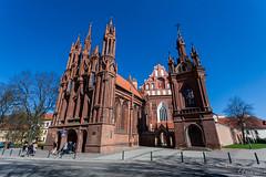 Švento Pranciškaus Asyžiečio bažnyčia. Vilnius. Lithuania