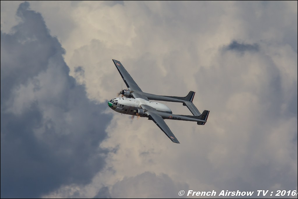 Nord N-2501 Noratlas - F-AZVM , Meeting de l'air BA-125 Istres 2016 , Meeting Aerien 2016