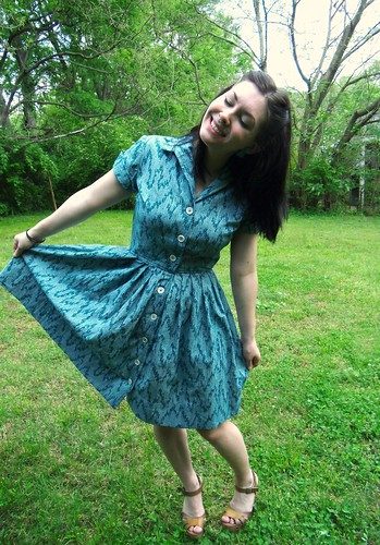 Shirtwaist Dress - no belt | by lladybird