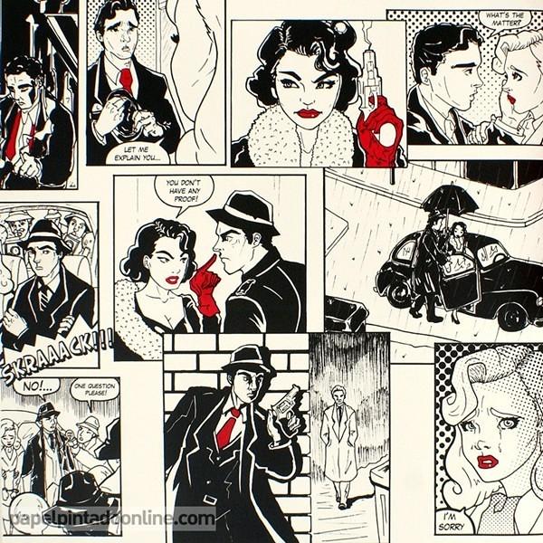 Papel pintado versatile comic papel pintado versatile for Papel pintado comic