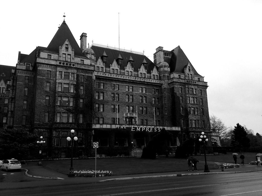 Empress Hotel Victoria Butchart Gardens And Victoria B