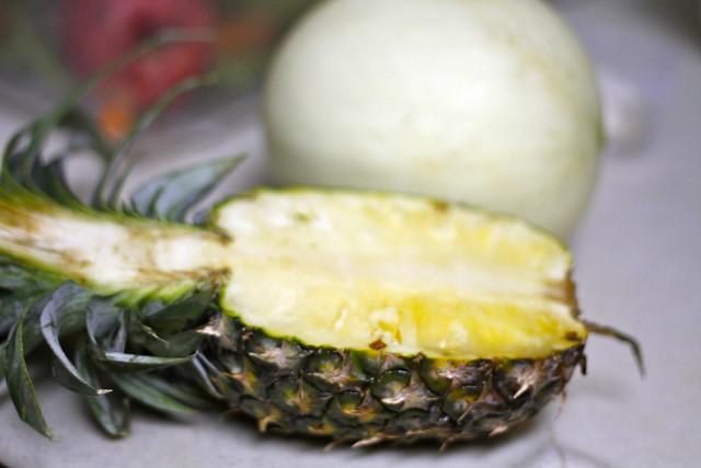 pineapple fruit bowl | Flickr - Photo Sharing!