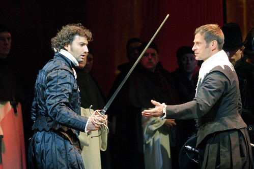 Jonas Kaufmann as Carlos and Simon Keenlyside as Posa in Don Carlos © Catherine Ashmore/ROH 2009 | by Royal Opera House Covent Garden