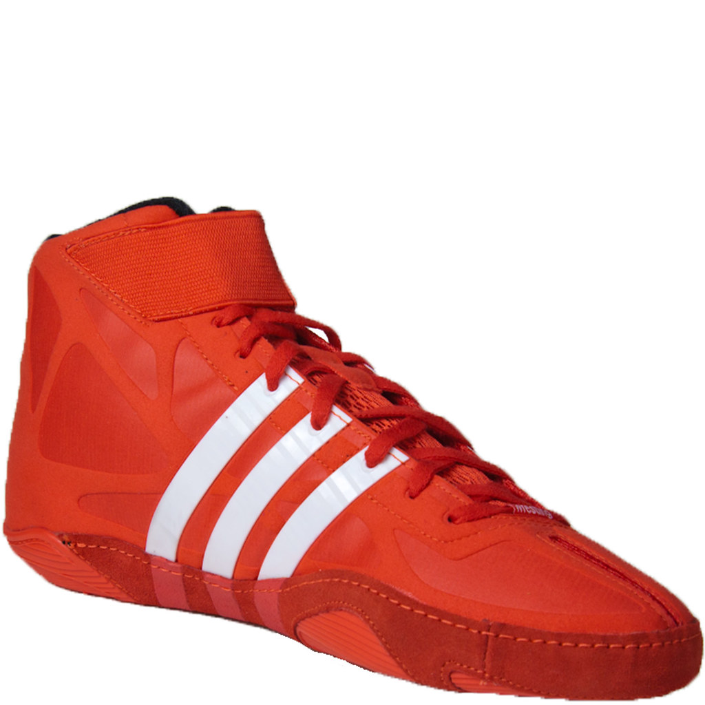 Adizero Wrestling Shoes Red