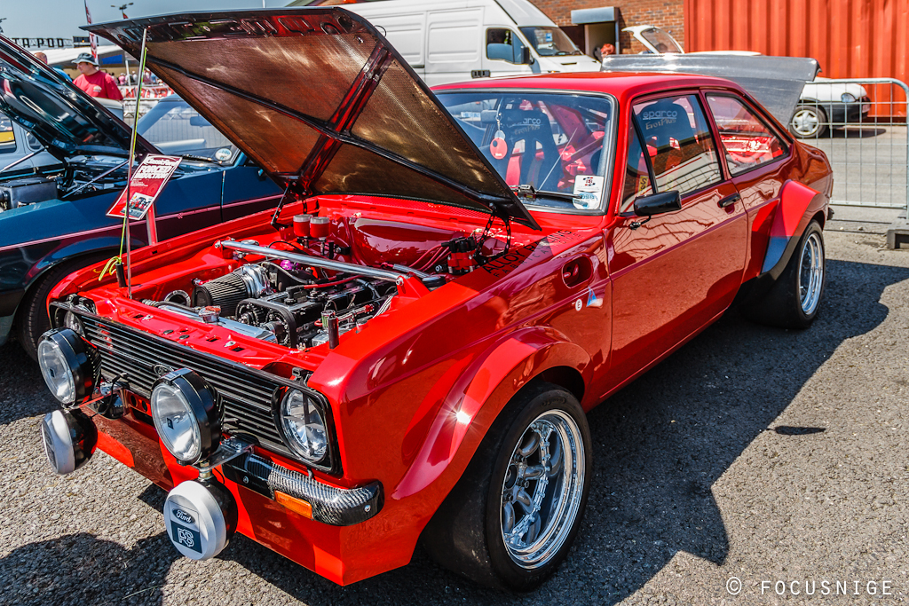 Escort Mk2 Cosworth Yb Powered Ford Escort Mk2 Flickr