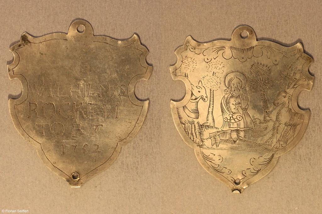 Koenigsschild Flittard von rockentorf wilhilmus aus dem Jahr 1752