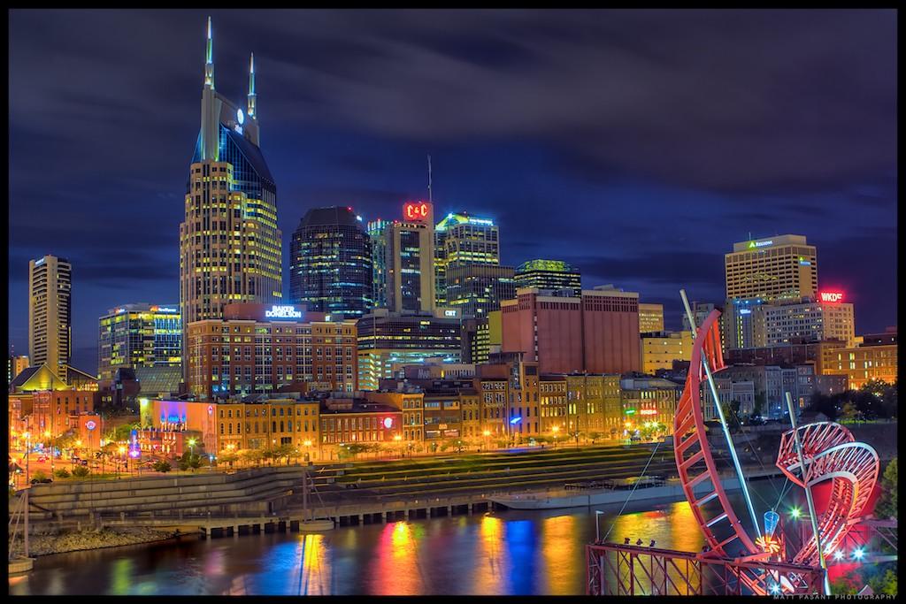 Universities In Nashville >> Nashville, Tennessee - Skyline | Nashville is the capital ...
