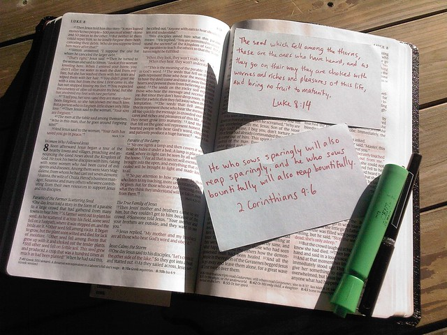 Memorizing Scripture and Bible Verses