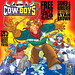 """THE TOYS TIME FORGOT :: FREE COMIC BOOK DAY;  GET YOUR COPY OF THE """" FIGHT GLOBAL WARMING  COLORING BOOK Featuring The Wild West C.O.W.-Boys of Moo Mesa """" (( May 5, 2012 ))"""