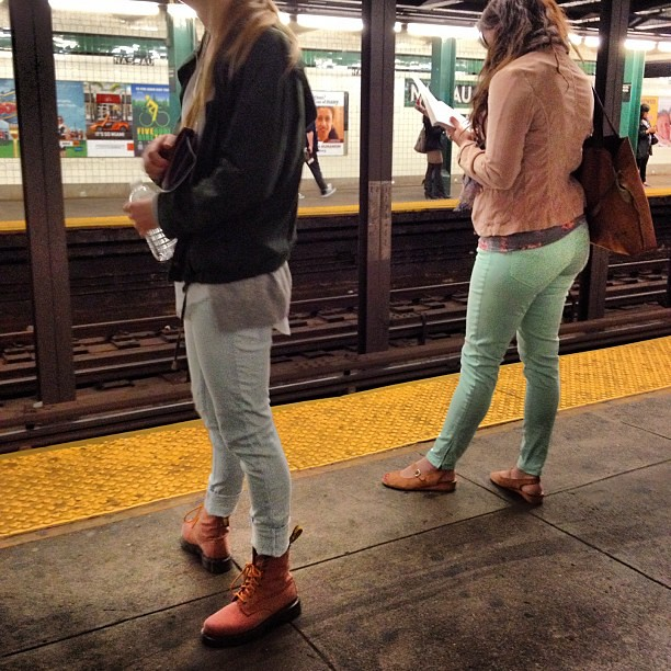 seafoam green pants - Pi Pants