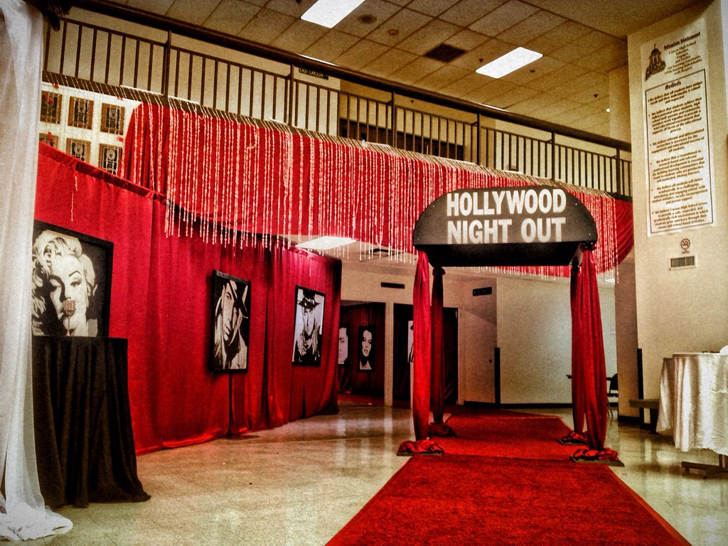Hollywood Theme Entrance Left Angle Celadon Events Flickr