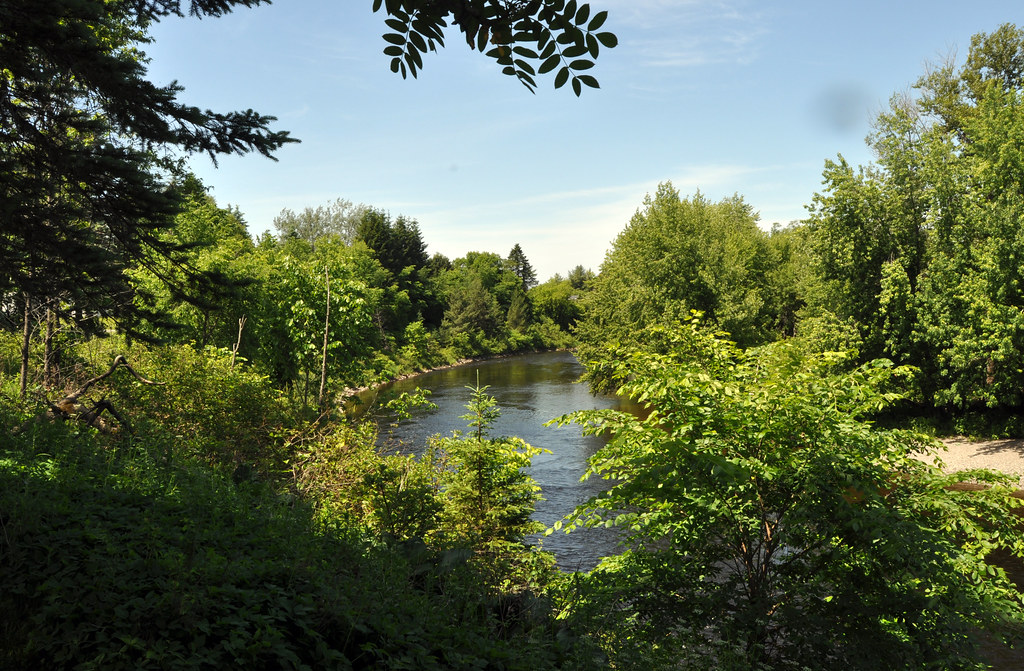 Fish river near university of maine fort kent campus for Fishing lake near me