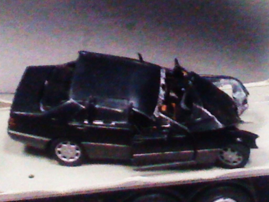 New Mercedes Benz >> Replica of Mercedes-Benz S Class W140 Crashed Lady Di | Flickr
