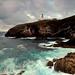 Tiumpan Head Lighthouse in the gloaming, Isle of Lewis