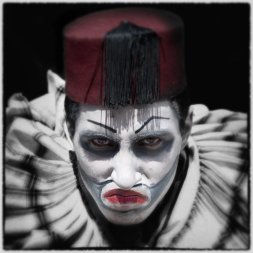 Angry Clown | by Gavin Ross