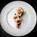 Shrimp, crispy masa, sea urchin mousse 06