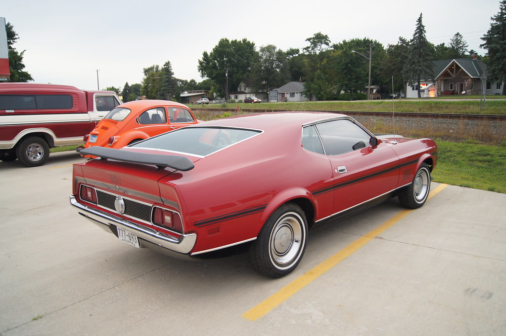 71 Ford Mustang Mach 1 26th Annual New London To New