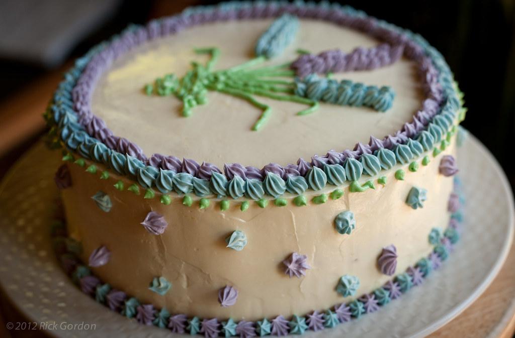 Homemade D Cake Tin