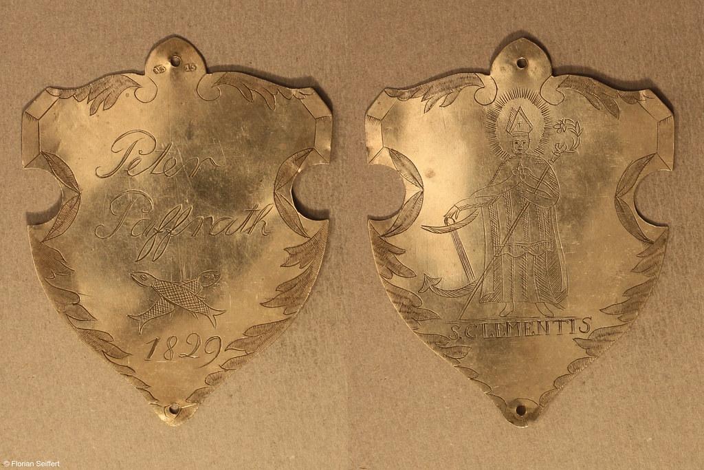 Koenigsschild Flittard von paffrath peter aus dem Jahr 1829