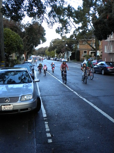 Another Bike Train in motion | by sfbike