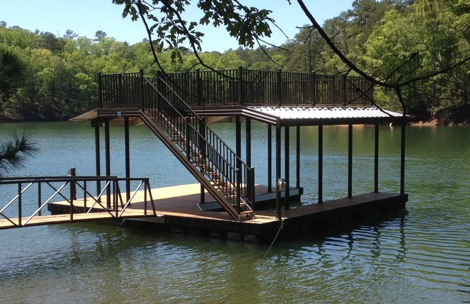 Casey Custom Docks Completes Wahoo Cat 5 Aluminum Floating