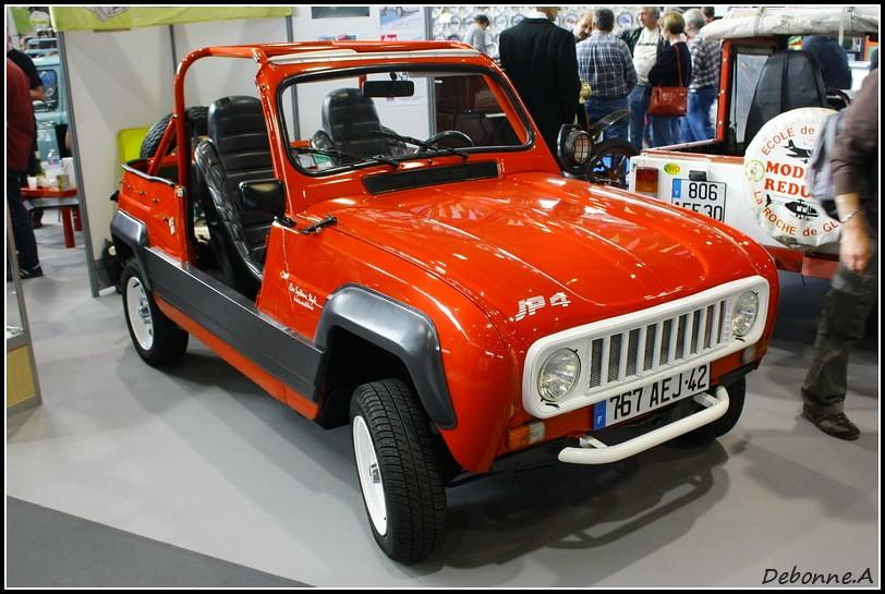 Renault R4 JP4 | Renault R4 JP4, dans une etonnante livrée r ...
