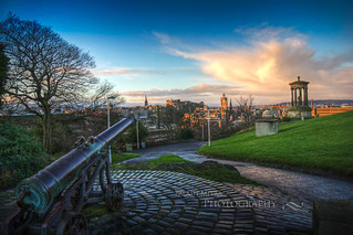 Calton Hill Cannon HDR | by palashmitter