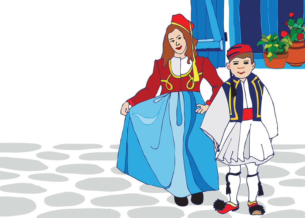 greek dancers coloring pages - photo#33
