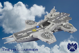 Helicarrier_left | by Jack Marquez