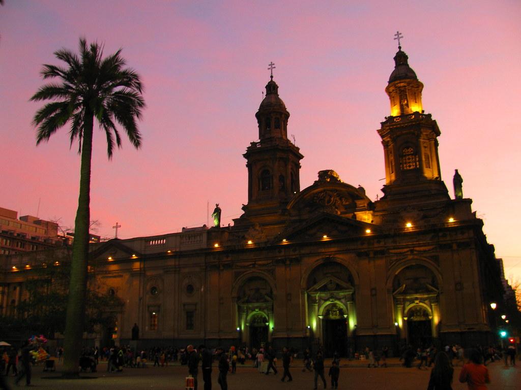 Santiago chile atardec a cuando dejamos el museo for Construccion de piscinas santiago chile