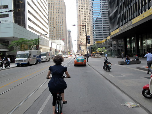 Biking in Toronto | by Canadian Veggie