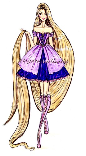 The Disney Divas Collection By Hayden Williams Rapunzel
