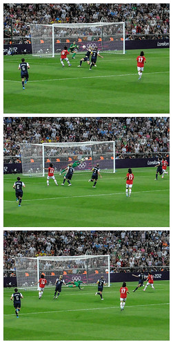Hope Solo save in U.S. vs Japan Gold medal match | by iceman9294