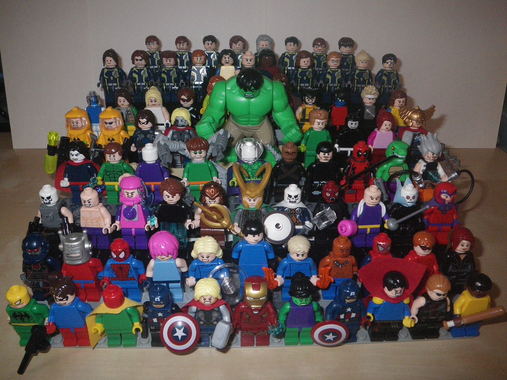 MARVEL Super Heroes LEGO | My full collection, bar newly ...