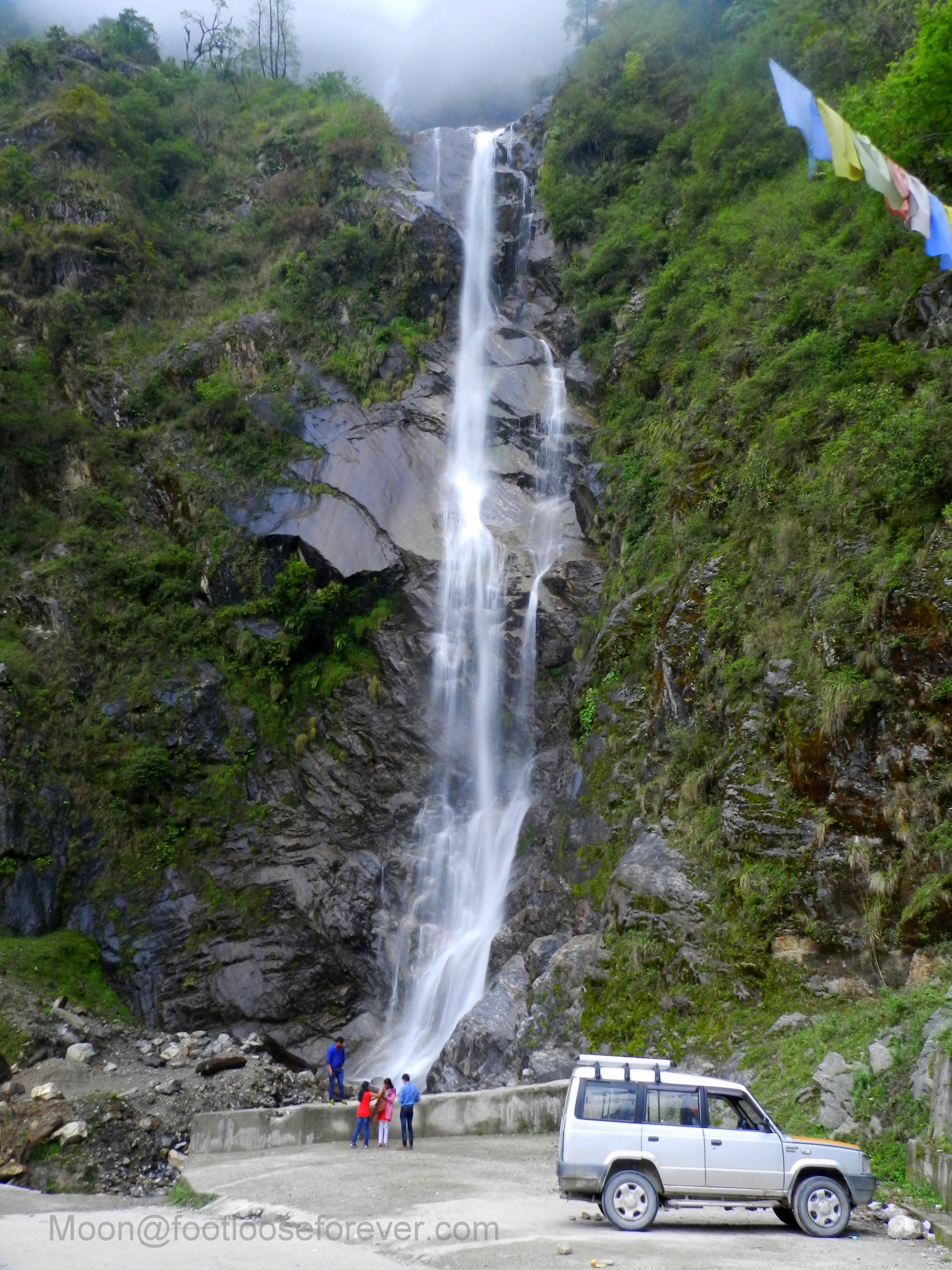 bachchan falls, waterfall, lachung, sikkim