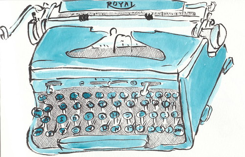 typewriter | by finslippy