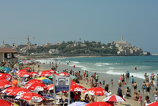 Tel Aviv beach | by David Lebovitz
