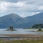 Castle Stalker and the Jubilee Bridge