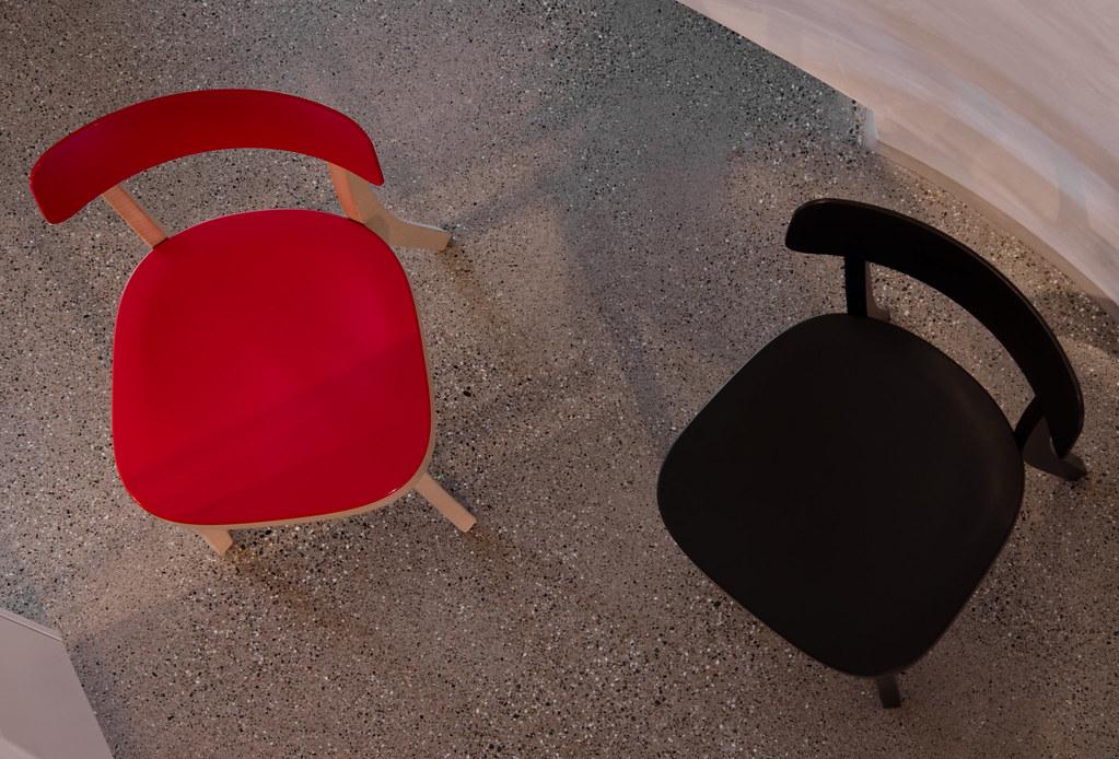 Chaises vue de haut couleur emmanuel lieppe flickr for Table vue de haut
