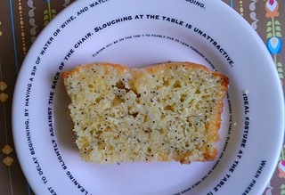 Olive oil lemon poppyseed cake | by cakespy