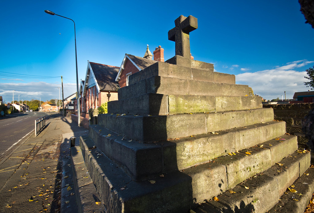Saxon Cross Delamere Street Winsford By St John S Church