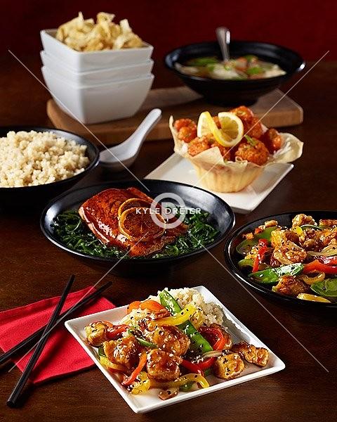 Tablescape Asian Dinner Family Style Kyle Dreier Flickr