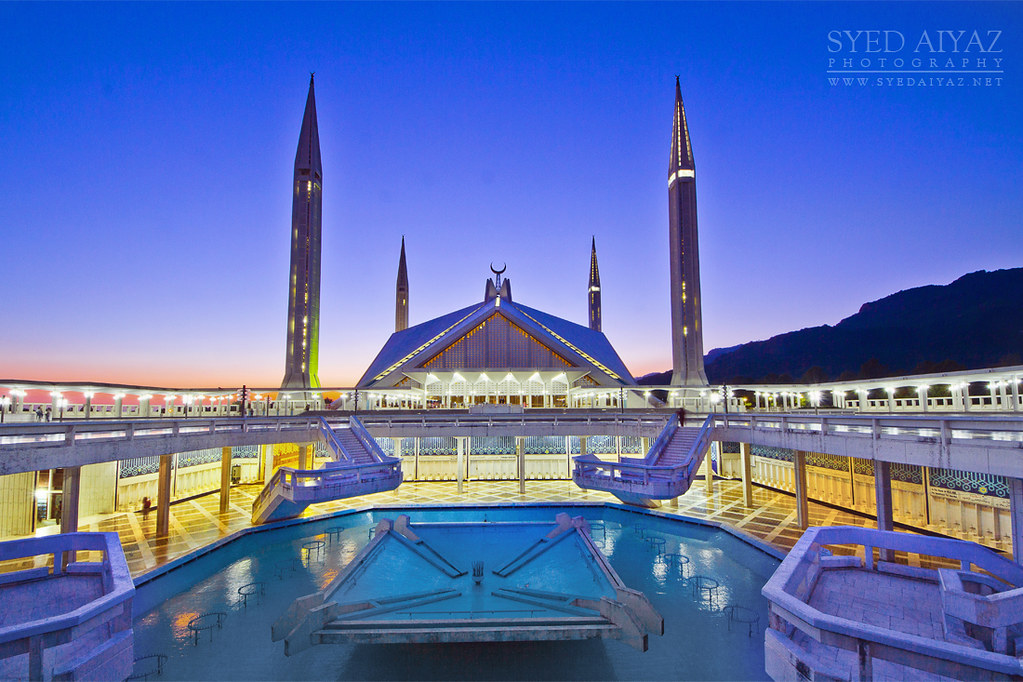 King faisal mosque islamabad pakistan syed aiyaz for 3d wallpapers for home wall in pakistan
