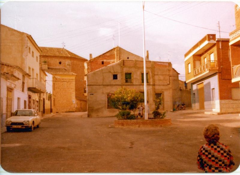 Calle de Abengibre. Fotografía J. M. Martínez Acacio