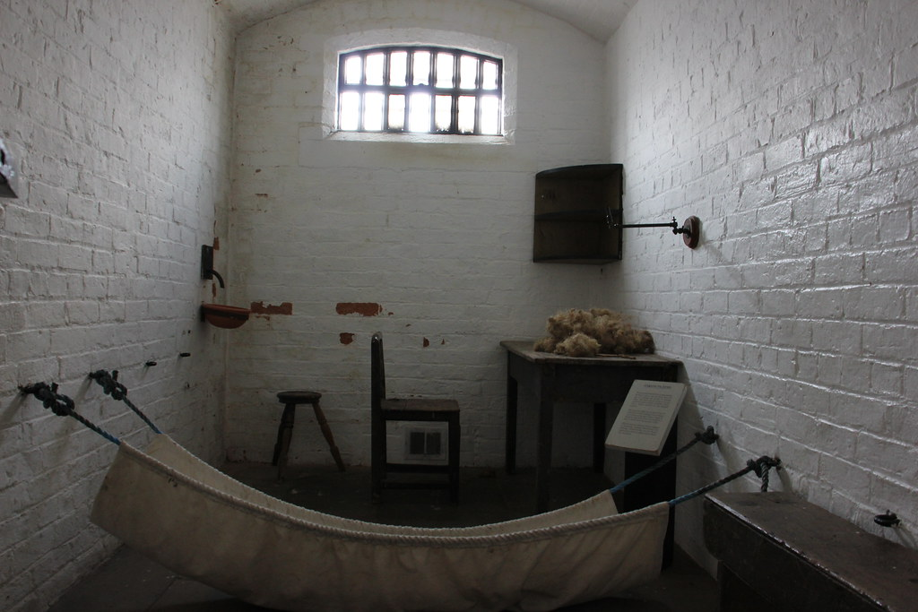 Victorian Womens Prison Cell Lincoln Castle Very Basic