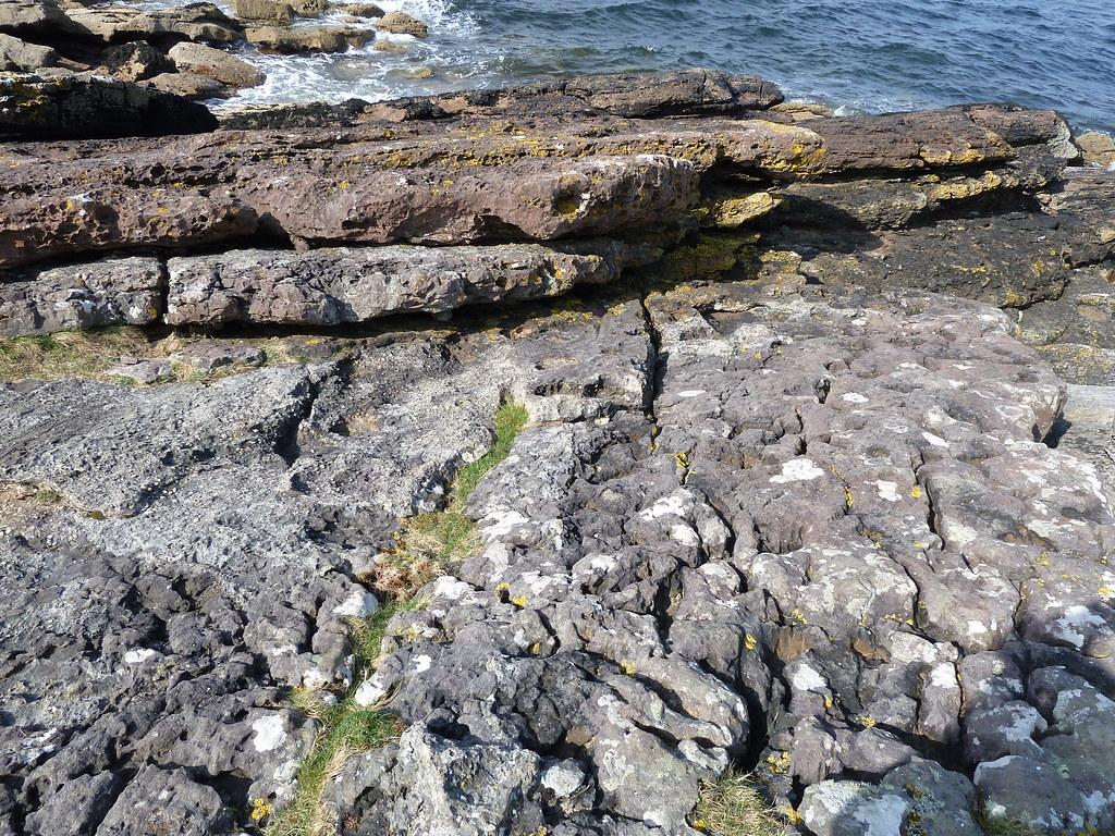 Hutton's Unconformity, Lochranza, Isle of Arran