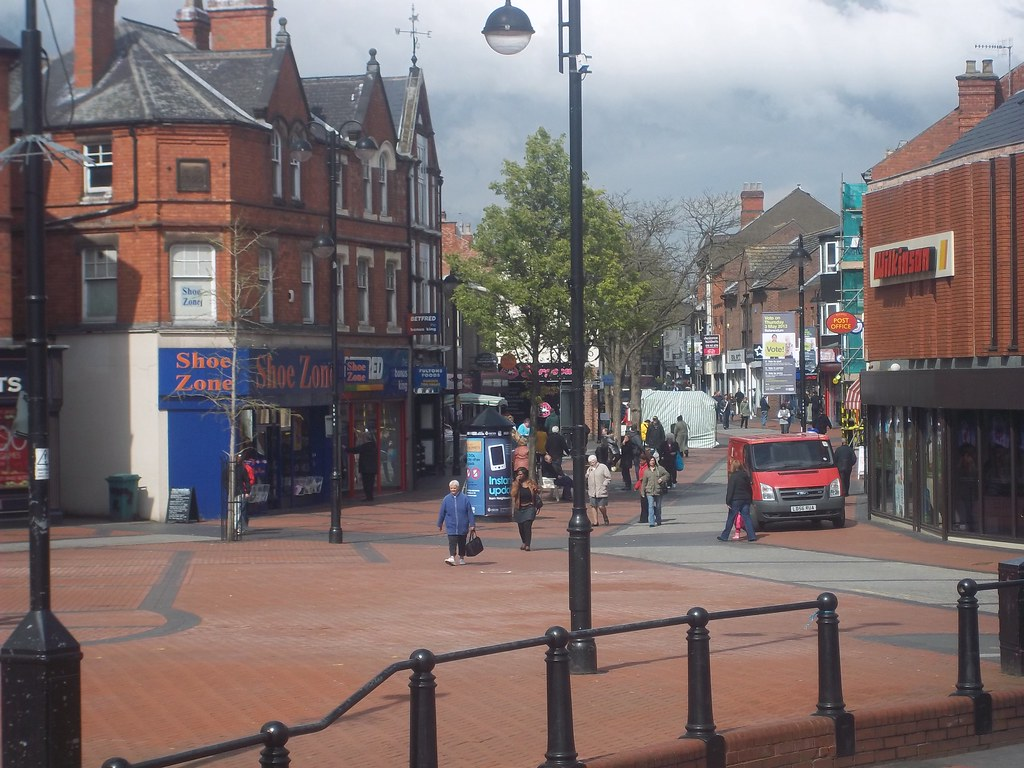 Bulwell Market Place In Bulwell There Is A Library A